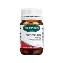 Thompsons Vitamin B12 50mcg        100 Tablets