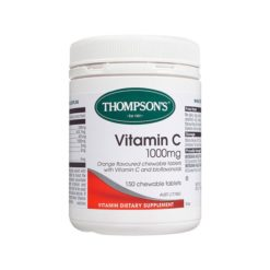 Thompsons Vitamin C 1000mg Chewable        150 Tablets