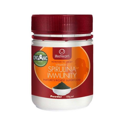 Lifestream Vitamin C Spirulina Immunity Certified Organic        100g