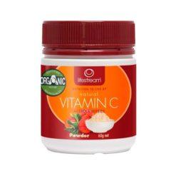 Lifestream Natural Vitamin C - Certified Organic        60g