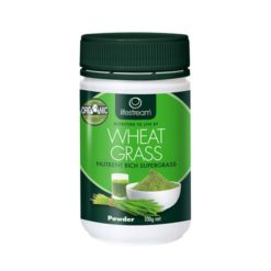 Lifestream Wheat Grass - Certified Organic        100g