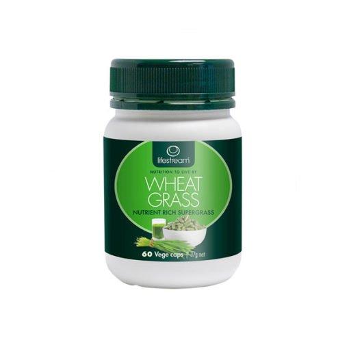 Lifestream Wheat Grass - Organic        60 Capsules