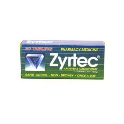 Zyrtec Tablets        30 Tablets