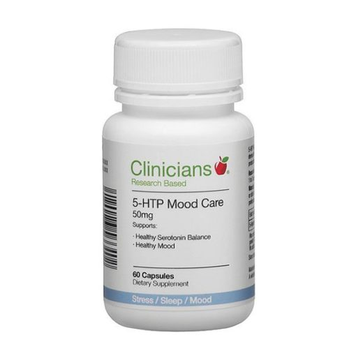 Clinicians 5-HTP Mood Care 50mg        60 Capsules