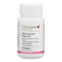 Clinicians Menopause Balance        60 Capsules