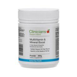 Clinicians MultiVitamin & Mineral Boost        75g