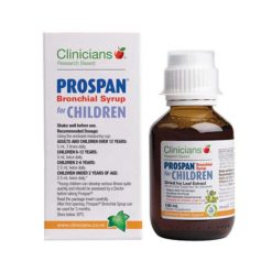 Clinicians Prospan For Children Syrup        100ml