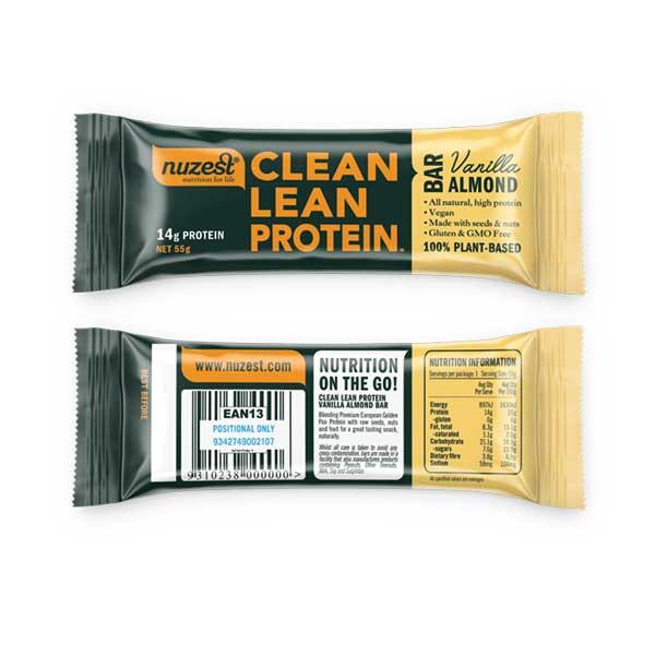 Clean Lean Protein Bars - Box of 12        40g Bars x 12