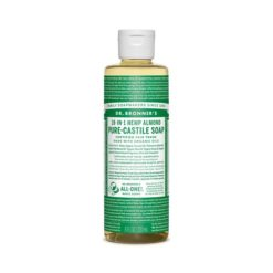 Dr Bronners Pure Castile Liquid Soap Almond        236ml