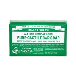 Dr Bronners Pure Castile Bar Soap      Almond 140g
