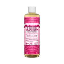 Dr Bronners Pure Castile Liquid Soap Rose Oil        940ml