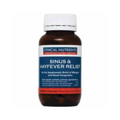 Ethical Nutrients Sinus & Hayfever Relief        60 Tablets