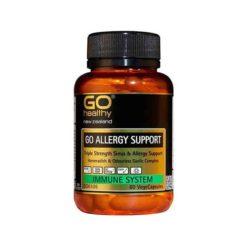 Go Allergy Support - Triple Strength        60 VegeCapsules