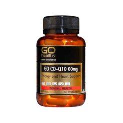 Go COQ10 60mg - Energy & Heart        60 VegeCapsules
