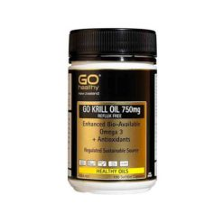 Go Krill Oil 750mg - Enhanced Bio-available Omega 3        60 Capsules