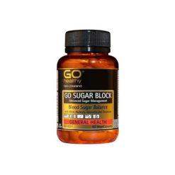 Go Sugar Block - Advanced Sugar Management        60 VegeCapsules