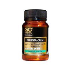 Go Hista-calm - Quercetin 500+ Bromelain & Vit C        30 VegeCapsules