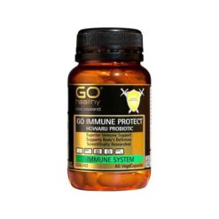 Go Immune Protect - Researched Immune Probiotic        60 VegeCapsules