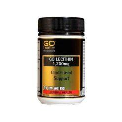 Go Lecithin 1200 - Cholesterol Support        120 Capsules
