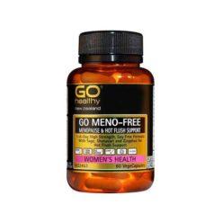 Go Meno-free - Menopause & Hot Flush Formula        60 VegeCapsules