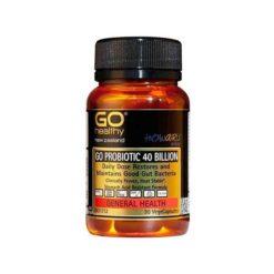 Go Probiotic 40 Billions - Howaru Restore (shelf Stable Probiotics)        60 VegeCapsules