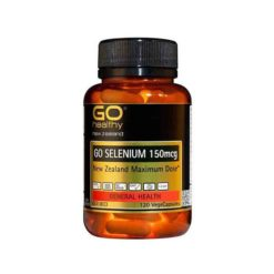 Go Selenium 150mcg - NZ Maximum Supplement Dose        120 VegeCapsules