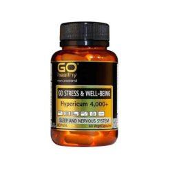 Go Stress & Well-being - Hypericum 4000+        60 VegeCapsules