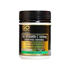 Go Vitamin C 500mg Chewable - Sugar Free