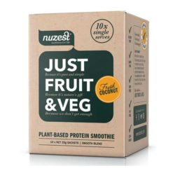 Just Fruit & Veg        10 Sachets Box