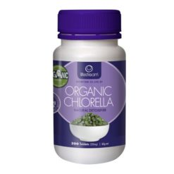 Lifestream Chlorella - Certified Organic 200mg        300 Tablets