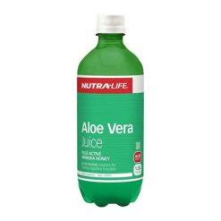 Nutra Life Aloe Vera Organic Juice With Manuka Honey        500ml