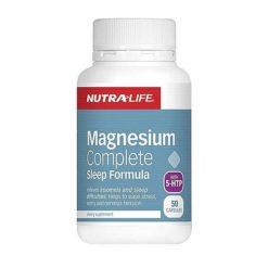Nutra Life Magnesium Complete Sleep Formula        50 Capsules