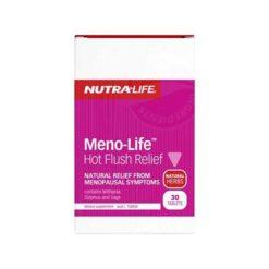 Nutra Life Meno-Life Hot Flush Relief        30 Tablets