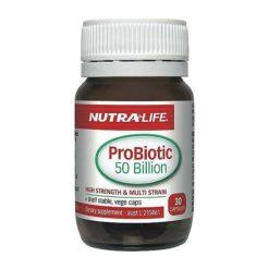 Nutra Life Probiotic 50 Billion High Strength        30 Capsules