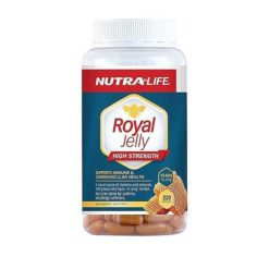 Nutra Life Royal Jelly High Strength        220 Capsules