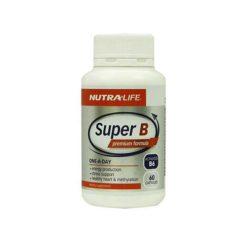Nutra Life Super B        60 Capsules