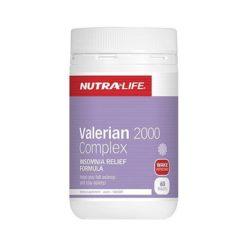 Nutra Life Valerian 2000 Complex        60 Tablets