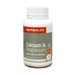 Nutra Life Calcium & Magnesium        90 Capsules