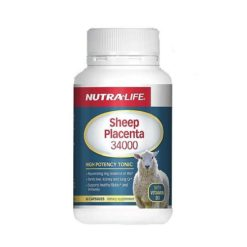 Nutra Life Sheep Placenta 34000 With Vitamin        60 Capsules