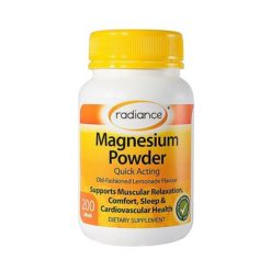 Radiance Magnesium Powder Lemon Flavour        200g