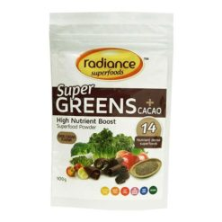 Radiance Super Greens Cacao        100g