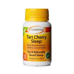 Radiance Tart Cherry Sleep        60 VegeCapsules