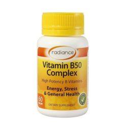 Radiance Vitamin B50 Complex        60 Capsules