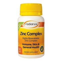 Radiance Zinc Complex        90 VegeCapsules