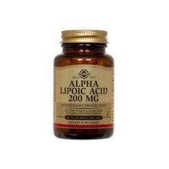 Solgar Alpha Lipoic Acid 200mg        50 VegeCapsules