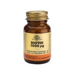 Solgar Biotin 1000mcg        50 VegeCapsules