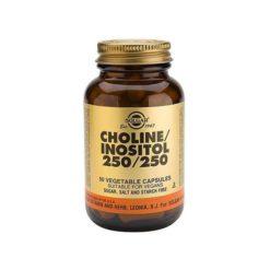 Solgar Choline / Inositol 250 / 250        50 VegeCapsules
