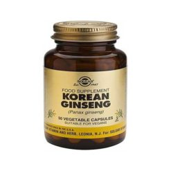 Solgar Ginseng (korean)        50 VegeCapsules