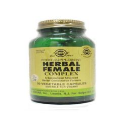 Solgar Herbal Female Complex        50 VegeCapsules