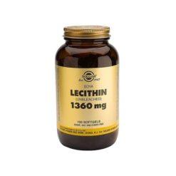 Solgar Lecithin 1360mg        59.2ml Capsules